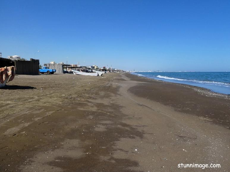 beach scene, soha